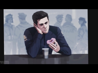 detroit become human   gavin reed x connor   convin