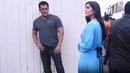 Salman Khan IGN0RES Katrina Kaif while Posing for Photos during Bharat Promotions