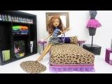 Как сделать кровать для куклы Monster High Clawdeen Wolf (хоть озвучка на испанском, но все наглядно и понятно!!!)
