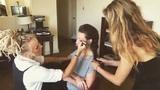 Evangeline Lilly on Instagram Making the #braid. @mararoszak . Making the #eyes @hilseycook . See it July 5th on @thetalknbc