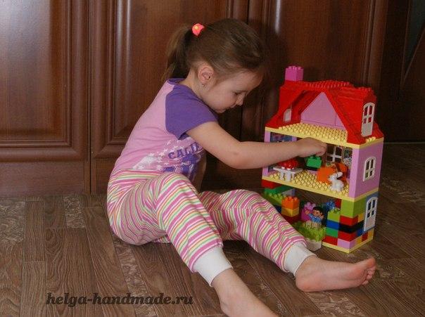 Шьем домашние штанишки для малышей своими руками выкройка на рост 104 см… (5 фото) - картинка
