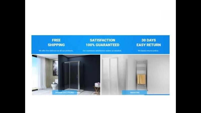 Quadrant shower enclosure and Shower Trays at biggest bathroom online retailer shop - www.elegantshowers.co.uk