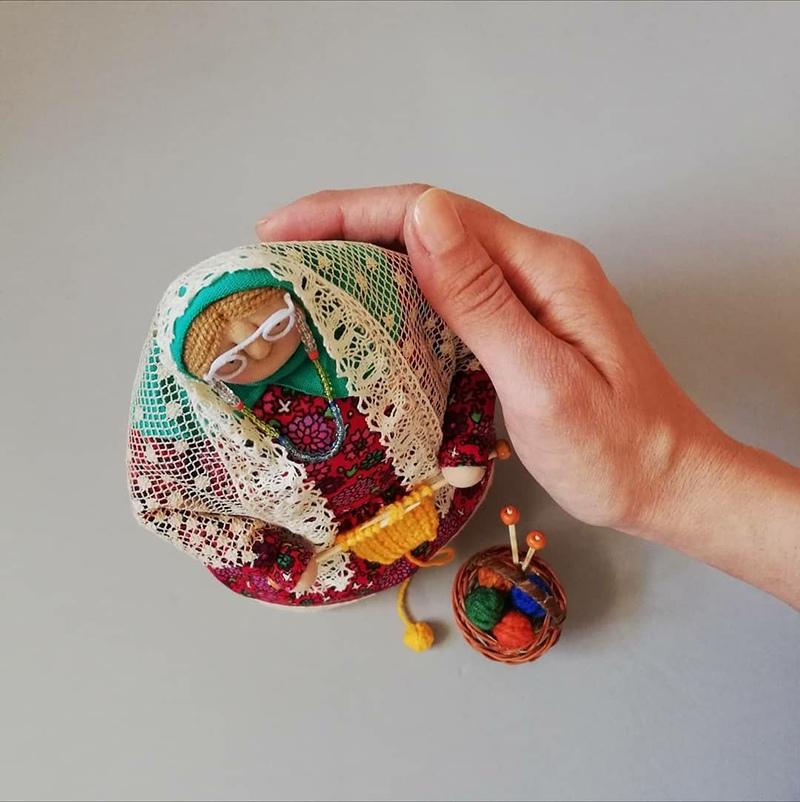 Бабушки-старушки: трогательные куклы, которые вызывают острый приступ ностальгии...