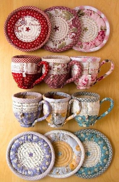Посуда из ткани (7 фото) - картинка