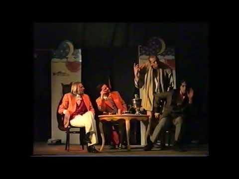 Фрагмент спектакля Кукиш нищете, или комбинация из трех. Театр ЛЮКС