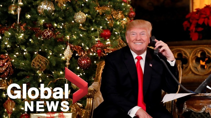 Trump tells 7-year-old child that believing in Santa at her age is 'marginal'