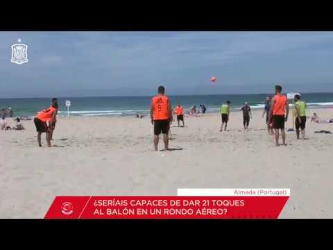 El rondo perfecto de la Selección Española de fútbol playa