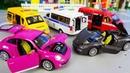 Машинки модельки служебные Газели и легковые автомобили