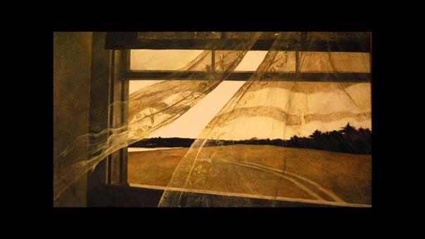 История одного шедевра. «Ветер с моря» (Вид из окна дома Кристины Олсен), Эндрю Уайет