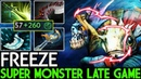 Freeze [Slark] Super Monster Late Game 300 Agi 7.19 Dota 2