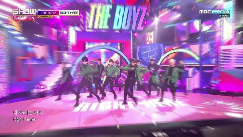 [Comeback Stage] 180912 THE BOYZ (더보이즈) - KeePer (지킬게) Right Here