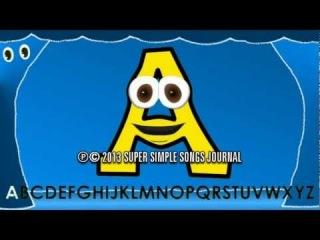 Урок английского языка: алфавит, буквы, цвета - Развивающие мультфильмы для детей от 3 до 36 месяцев