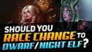 Should You Race Change To Dwarf Night Elf WoW BfA Season 2 Best PvP Races