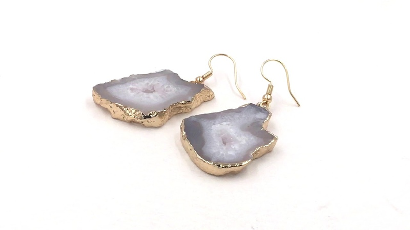 Kinsley Armelle Agate Collection - Chiffon Drop Earrings