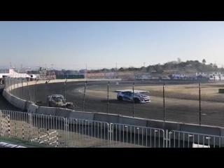 Daigo Saito Crash (D1GP 2018 - Round 1 - Practice / Maishima Sports Island)