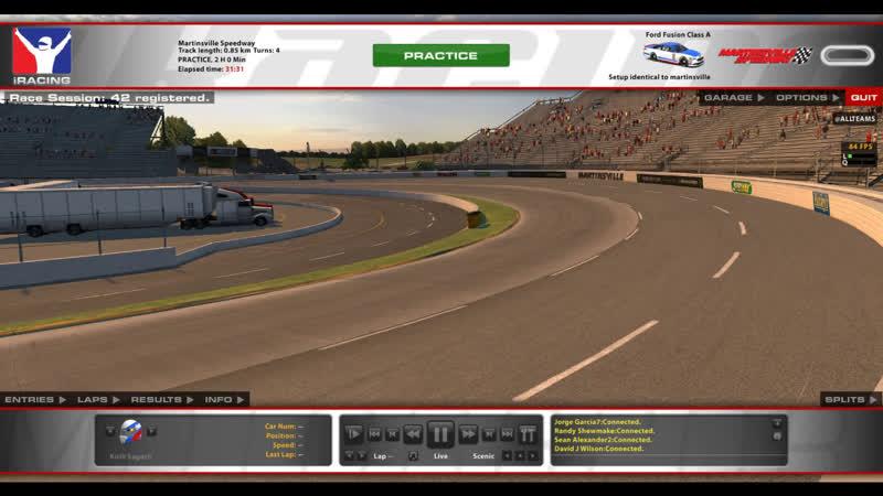 IRacing. Nascar. Martinsville Speedway