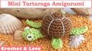 Tutorial Tartaruga Amigurumi (sub. English y Español)