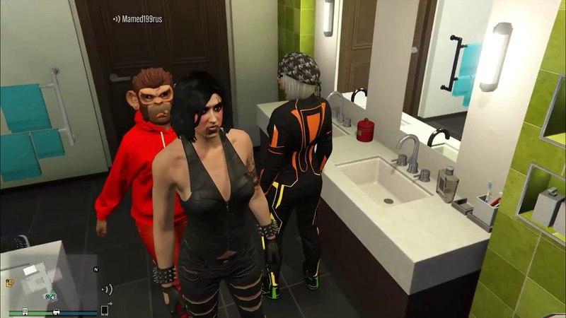 GTA 5 ONLINE - Первое знакомство с Мамедом (17.10.2016)