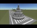 KSP - Launching a satellite in 10 G gravity - stock