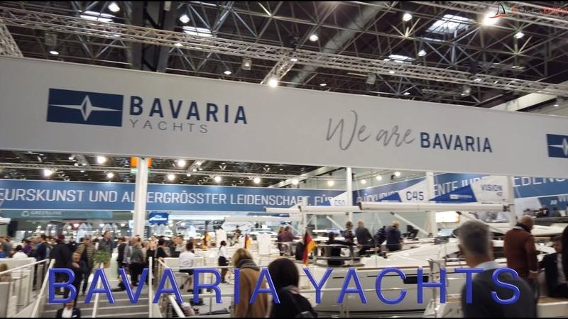 Bavaria Yachts Часть 1 Обзор яхт верфи Bavaria Выставка Dusseldorf Boat Show 2019