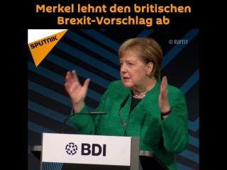 Merkel lehnt den britischen Brexit-Vorschlag ab