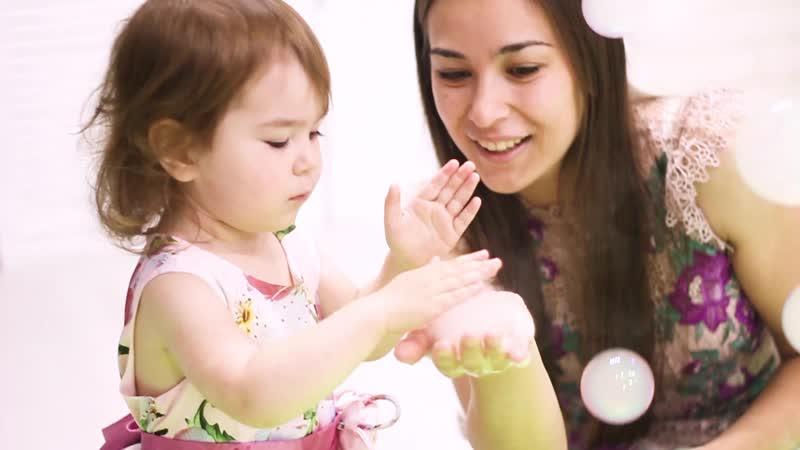 Укороченный вариант ролика для instagram Детский праздник с любовью