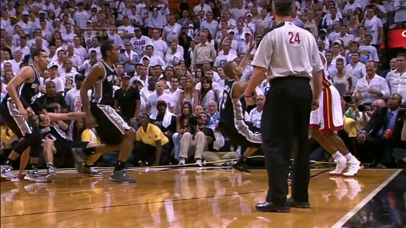Ray Allens AMAZING game-tying 3-pointer in Game 6
