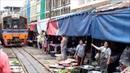 Маеклонг, рынок на рельсах / Maeklong Railway Market