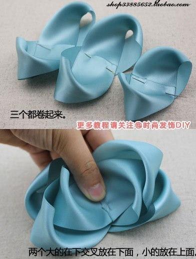 Как сделать резинку бантик своими руками