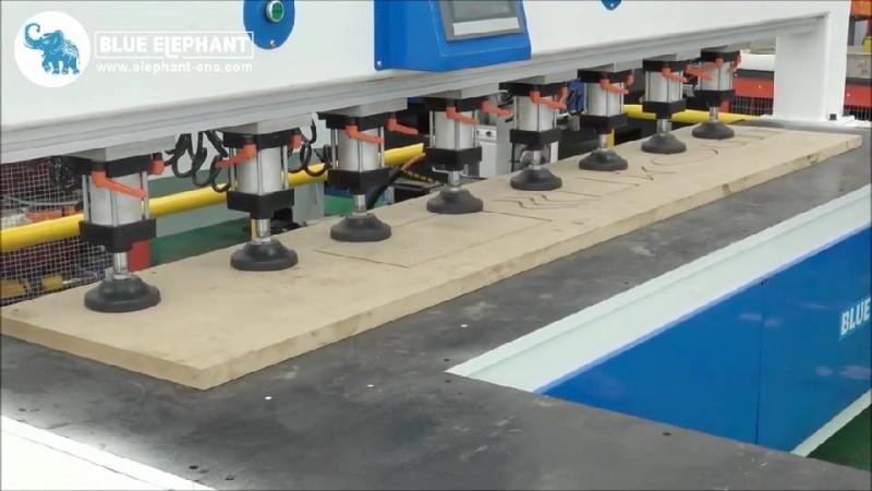 Боковая дырочная машина широко используется в производстве панельной мебели