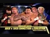 (WWE Mania) WrestleMania XX The Rock 'n' Sock Connection vs. Evolution