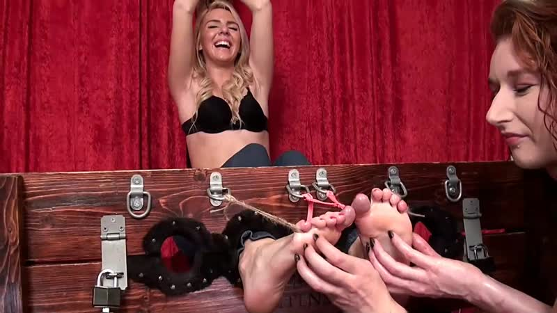 Tickle Intensive - Desperately Ticklish Booth Babe