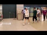 180708 VIXX Leo, Ken, Ravi, Hyuk on Incheon Airport