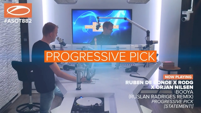 [ASOT 882] Ruben de Ronde x Rodg x Orjan Nilsen - Booya [Statement!]