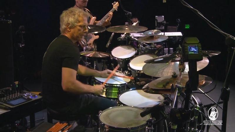 Dave Weckl en La Escuela de Música y Audio Fernando Sor - Nothing Personal