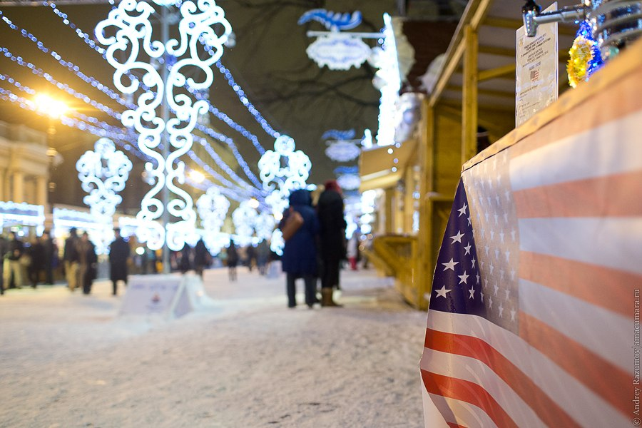 Рождественская ярмарка площадь островского санкт-петербург