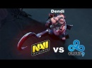 Pudge Dendi Na'Vi vs c9 Dota 2 Champions League S2