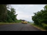 В соревновании по скоростному подъему на холм в Северной Ирландии принял участие автобус Ikarus 260.