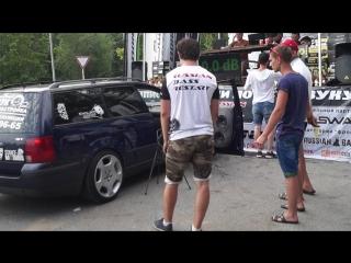 Полное видео замера Volkswagen Passat B5 на соревнованиях Russian Bass Restart в городе Пенза 2018г