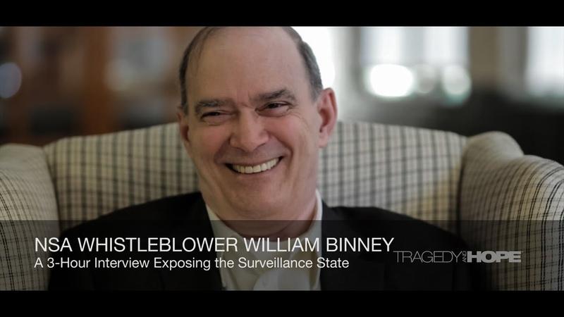 NSA Whistleblower William Binney interviewed by Richard Grove | Tragedy and Hope