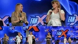 Lucy Lawless and Renee O'Connor singing at Salt Lake Convention in Utah