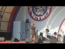 На сцененаша ученица Карина Балашова. Школа вокала Сергея Пенкина на концерте к Дню города.
