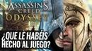 ASSASSINS CREED ODYSSEY No es un ASSASSINS CREED ¿QUÉ HA PASADO CON LA HISTORIA DEL JUEGO