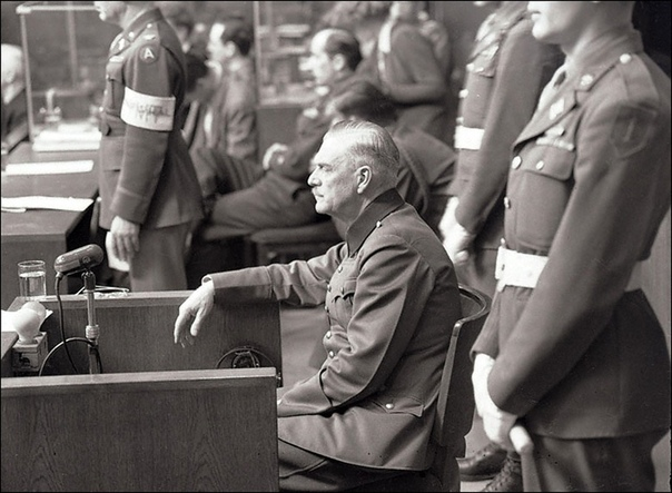 Фотографии с Нюрнбергского процесса.
