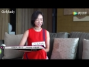 MaxMara Store Opening Event in Changsha OnlyLady女人志视频 Interview (180630)