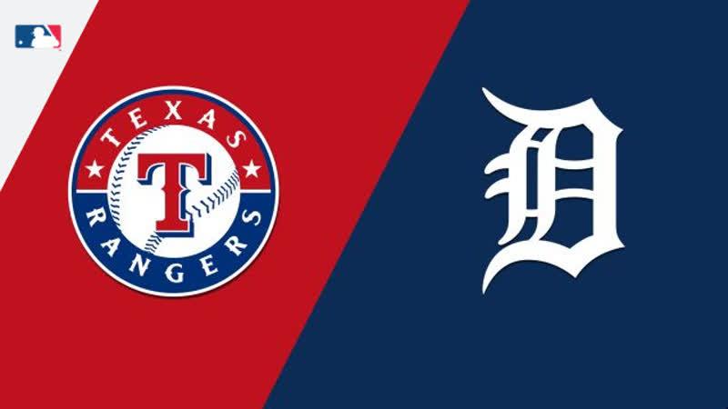AL / 06.07.18 / TEX Rangers @ DET Tigers (2/4)