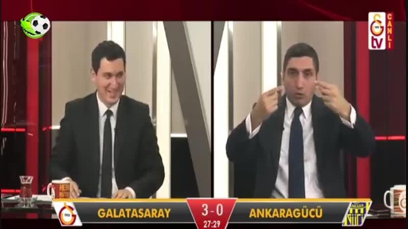 Galatasaray 6-0 Ankaragücü GS TV Gol Anları ve Anlatımı