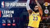 LeBron James RETURNS Against The Clippers | January 31, 2019 #NBANews #NBA #Lakers #LeBronJames