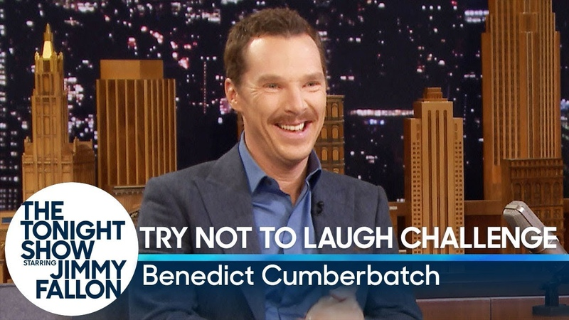 Try Not to Laugh Challenge with Benedict Cumberbatch
