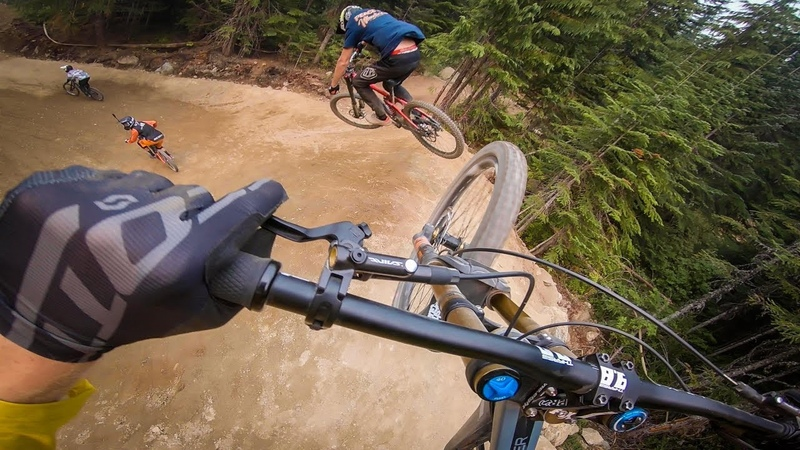 DIRT MERCHANT AND A-LINE WITH BRENDOG, ZIMBLAKE AND NEEDLES | WHISTLER BIKE PARK